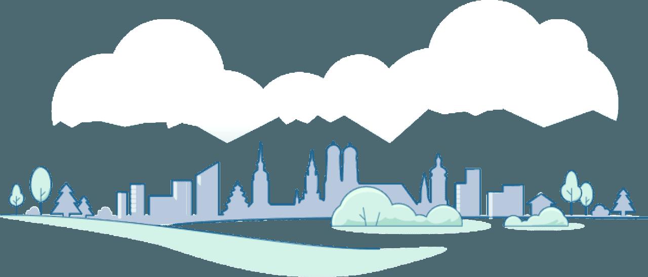 Панорама міста, графіка